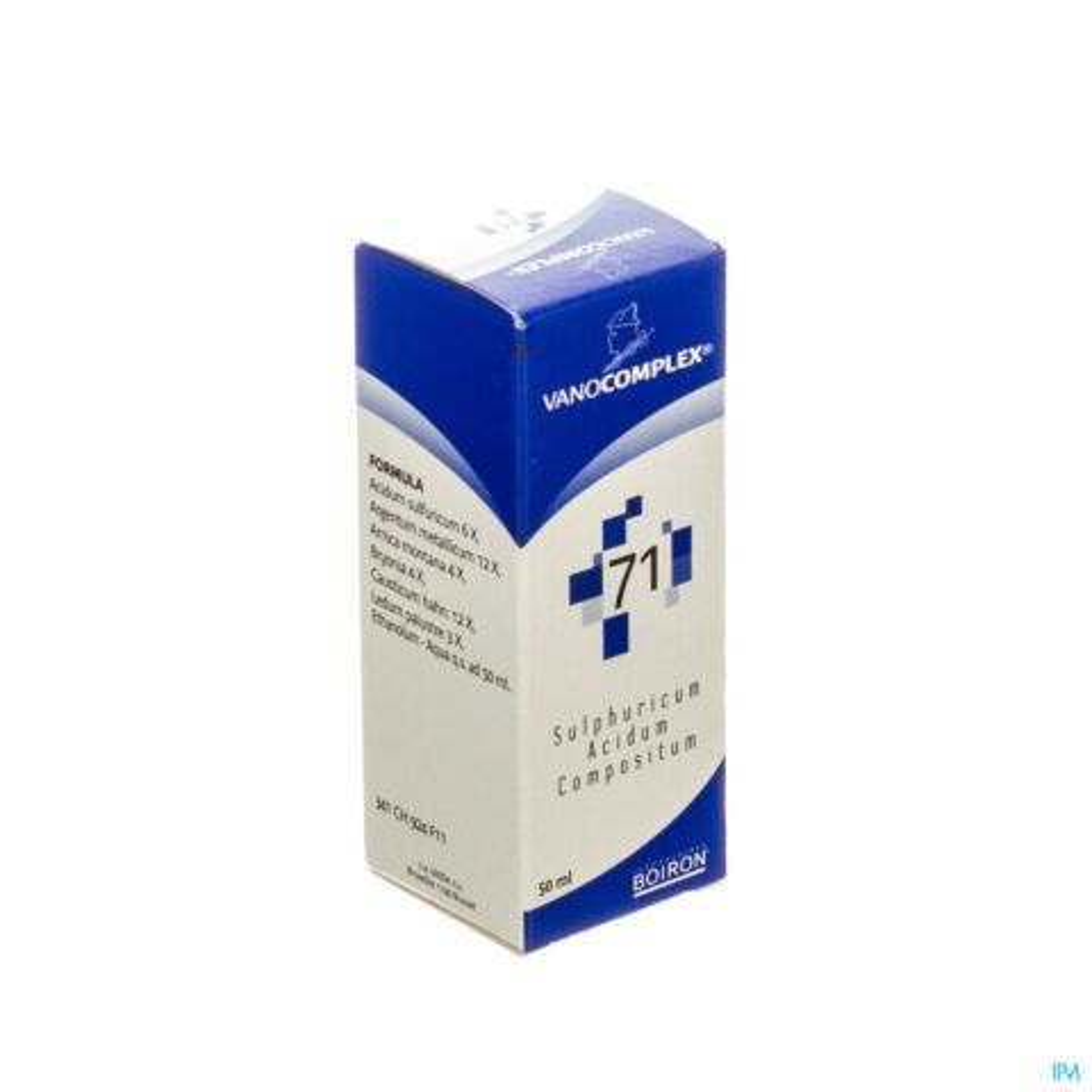 Vanocomplex N71 Acidum Sulf. Gutt 50ml Unda