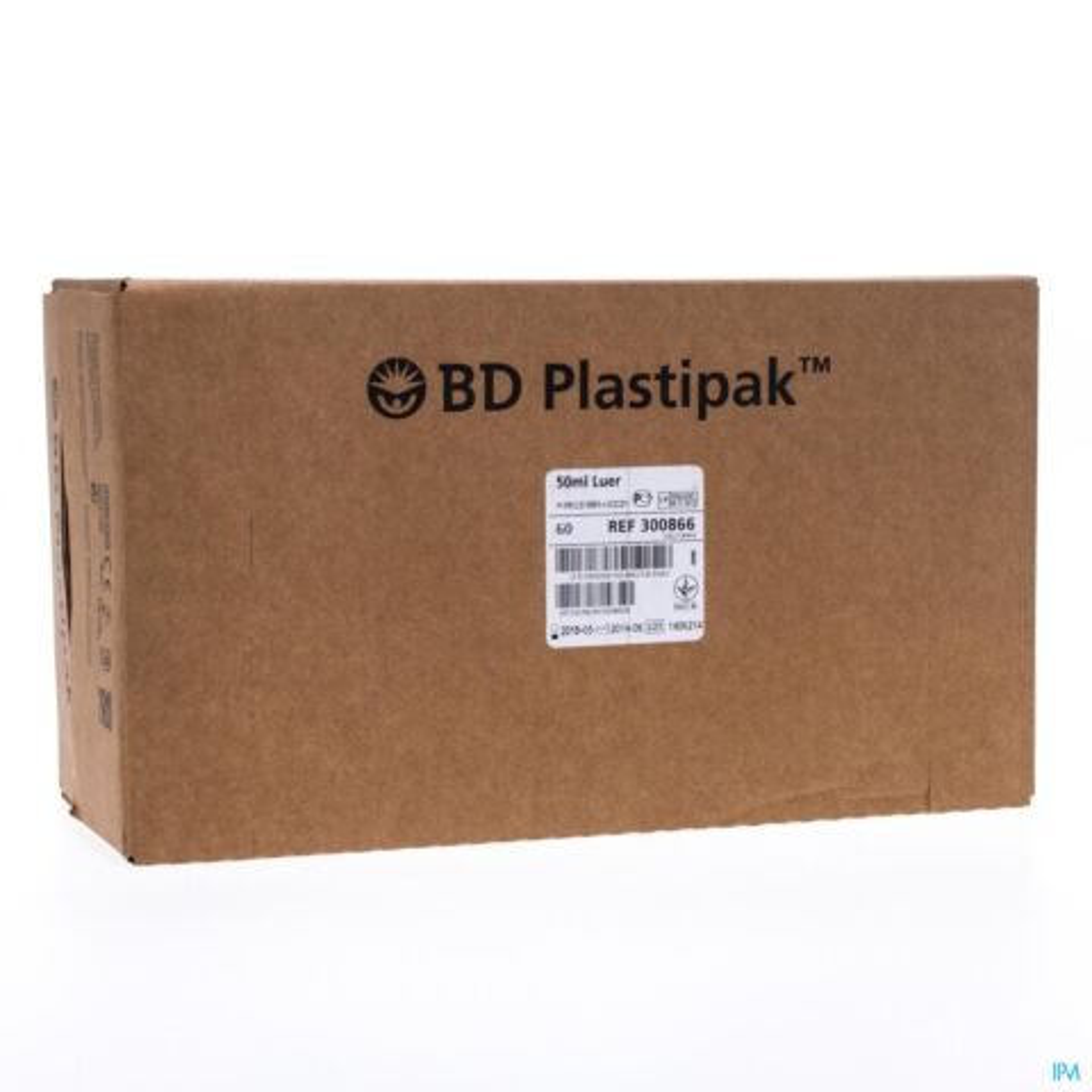 BD PLASTIPAK SPUIT LUER 50-60ML 60 300866