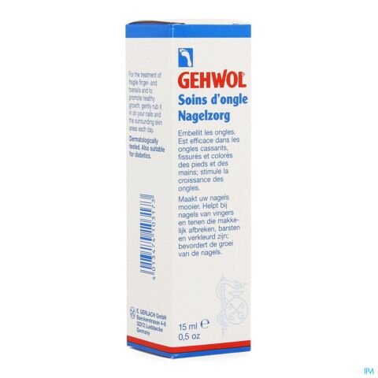 GEHWOL GERLAN NAGELZORG 15ML 1125101