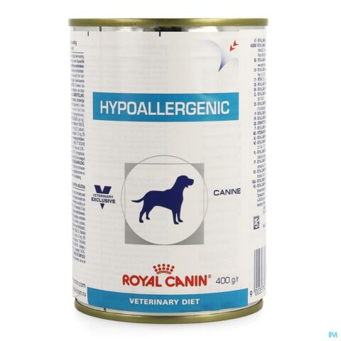RC VDIET HYPOALLERGENIC CANINE 12X400GR