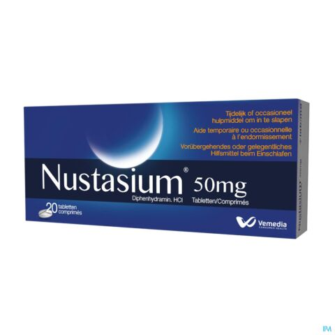 Nustasium 50mg 20 Tabletten