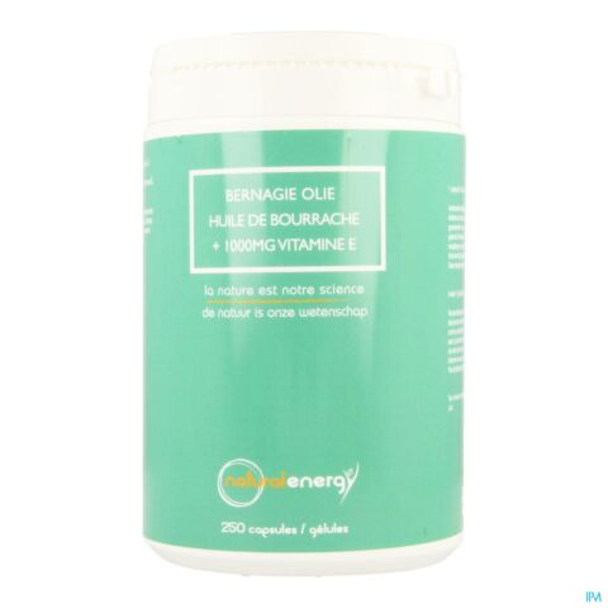 Natural Energy Bernagie Olie 250 Capsules