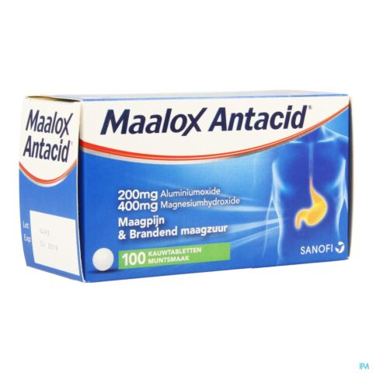 Maalox 100 Kauwtabletten