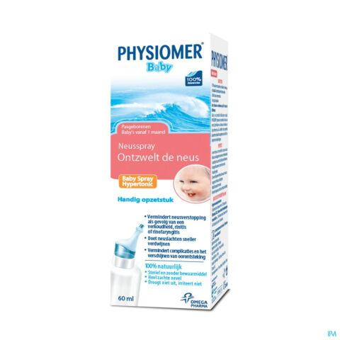 Physiomer Baby Hypertonic Spray 60ml