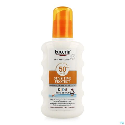 Eucerin Zon Sensitive Protection Kids Spray SPF50+ 200ml