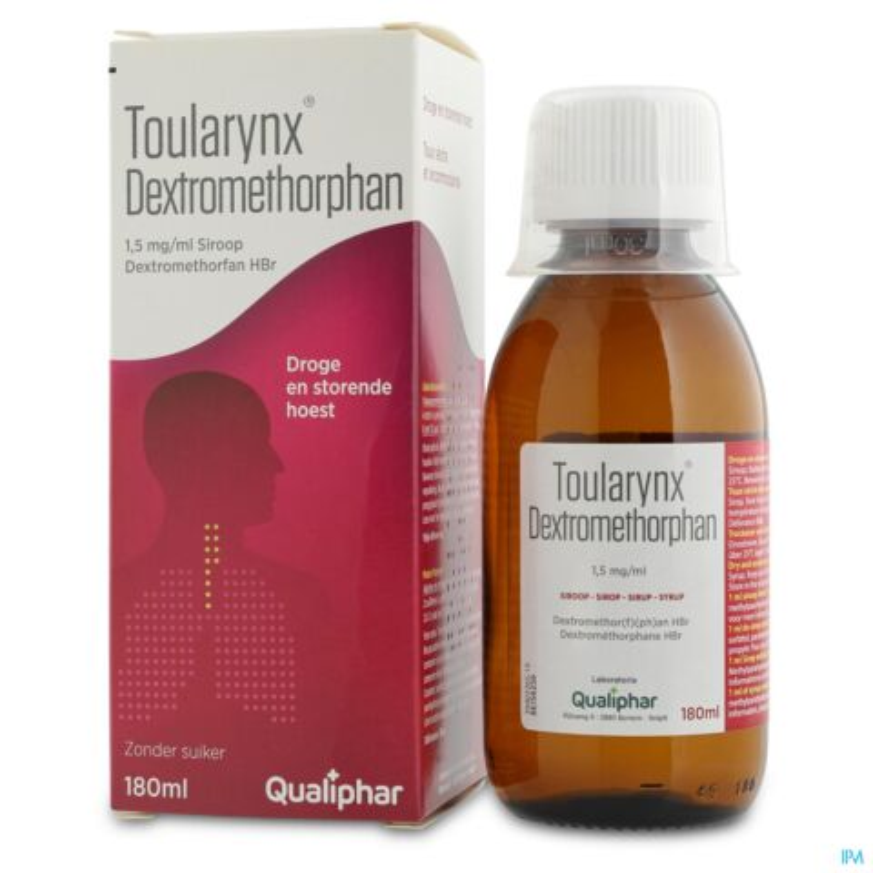 Toularynx Dextrometorphan Siroop 180ml