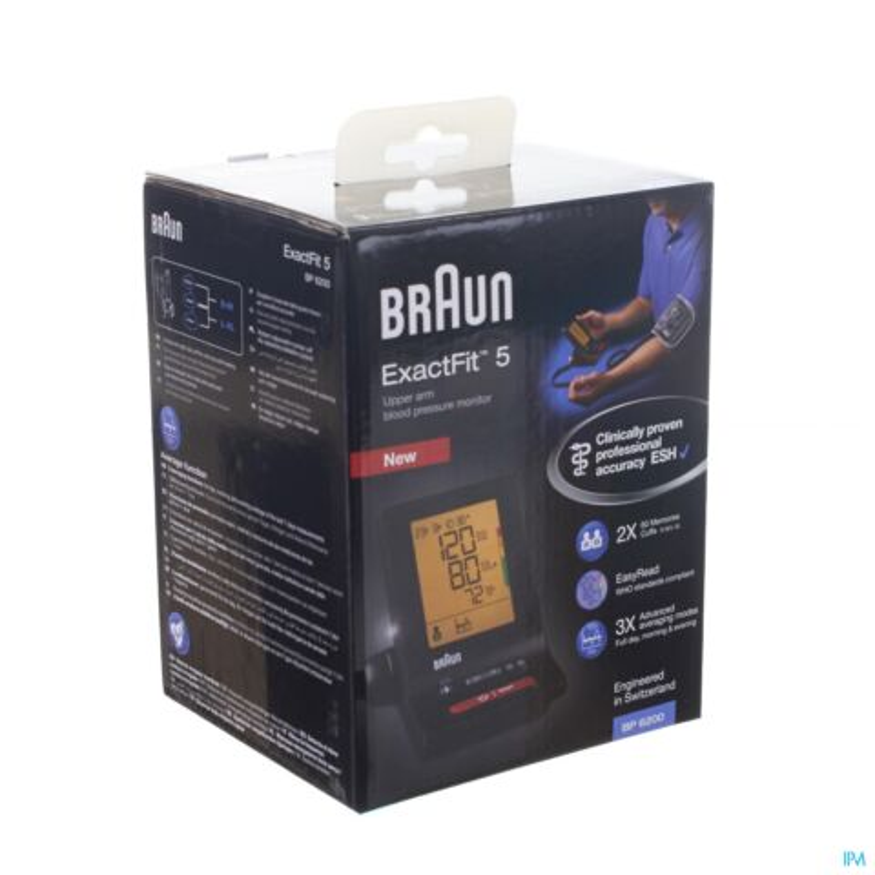 Bloeddrukmeter Braun BP6200 Exact Fit TM5 1 Stuk