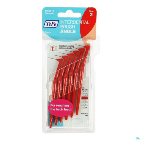 Tepe Angle Interdental Ragers Red 0,5mm 6 154630
