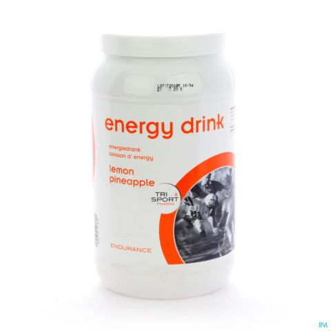 Trisport Pharma Energy Drink Lemon Poeder 1kg