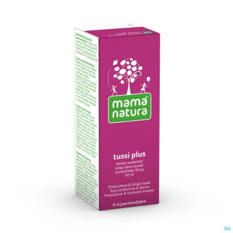 Mama Natura Tussi Plus Siroop 50ml