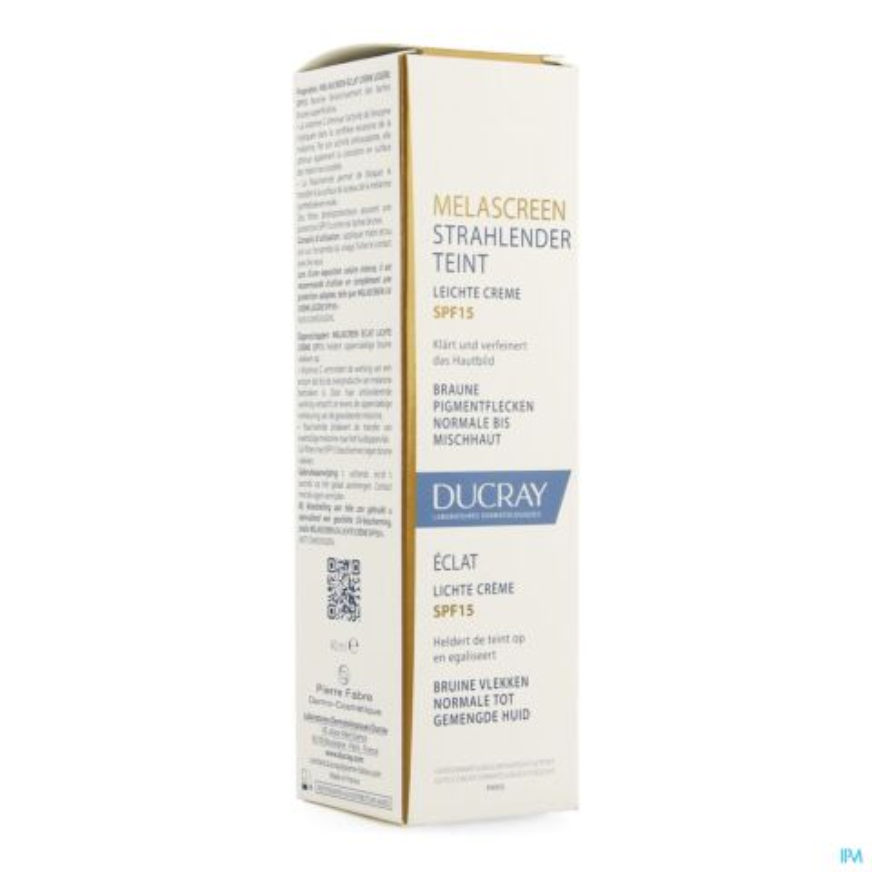Ducray Melascreen Eclat Lichte Creme SPF15 40ml