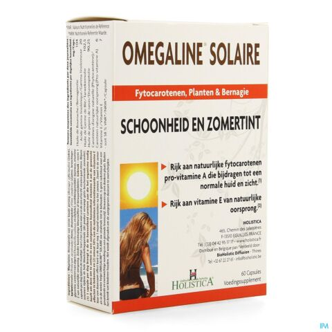 OMEGALINE SOLAIRE CAPS 60